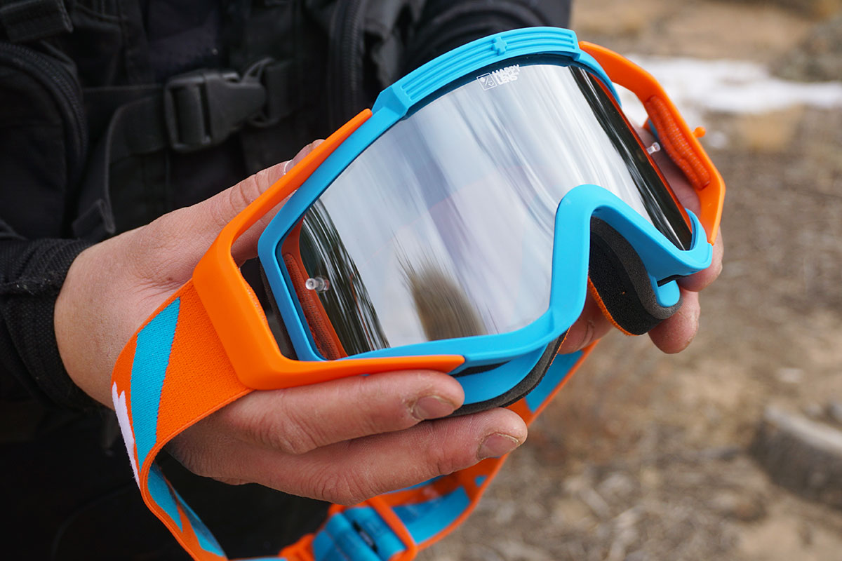 Motorcycle gloves review 2016 -  Review The Omen Mx Goggles By Spy Optic